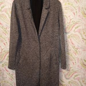 Divided Coat W/Scarf